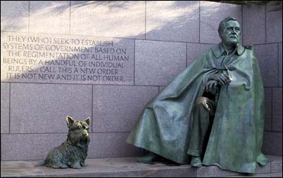 Click here to visit FDR's Fala, the world's most famous dog!