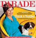 Parade cover with First Lady and Spot